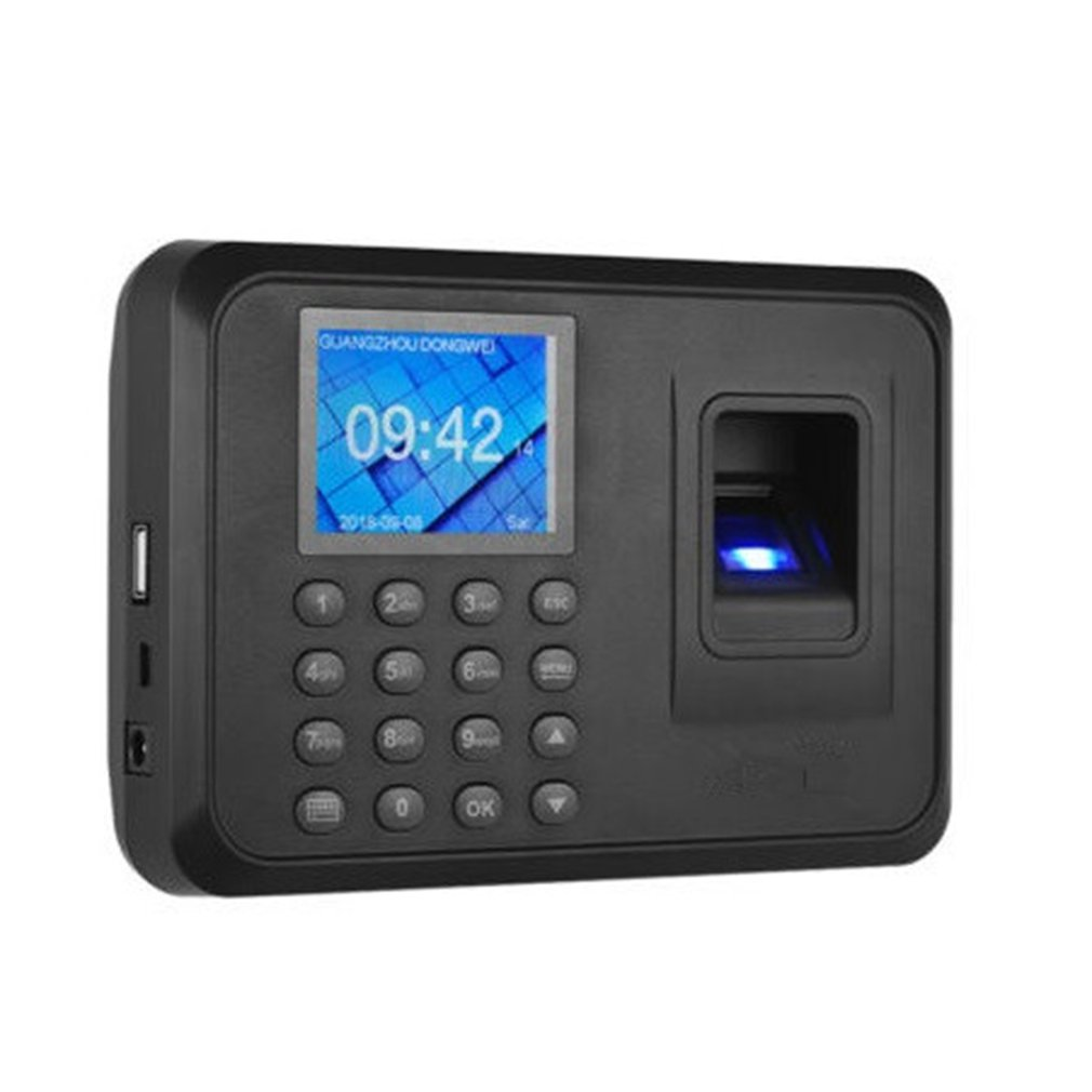 H1 Biometric Fingerprint Time Attendance System Clock Recorder Employee Recognition Recording Device Electronic Machine