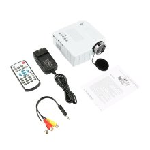 UC28 Мини-проектор HD домашний 1080P микро Портативный светодиодный проектор с ЖК-дисплеем технология для домашнего развлечения Конференц-система