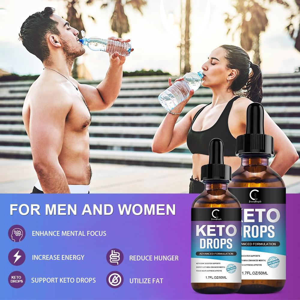 Keto Diet Drops - Weight Lost, Metabolism, Replenish Energy, Detoxification - Advanced Formula