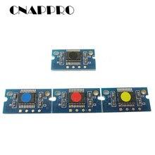 Compatível konica minolta bizhub c25 c35 c 25 35 unidade de imagem chip iup14 IUP-14 cartucho de tambor redefinir chips