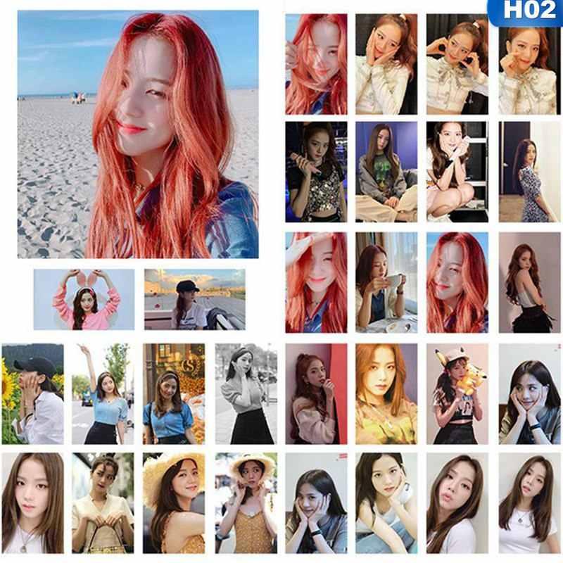 30 قطعة/المجموعة الكورية KPOP BLACKPINK الفتيات تقتل هذا الحب 2019 جديد ألبوم صور بطاقة بطاقات بلاستيكية الذاتي صنع LOMO بطاقة Photocard