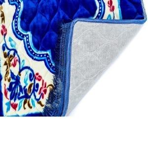 Image 5 - Nuovo Disegno Unico Ciniglia di Spessore Da Viaggio Islamico di Preghiera Zerbino/Tappetini/tappeto per Culto Salat Musallah Preghiera Tappetini Pregare zerbino 75*120 centimetri