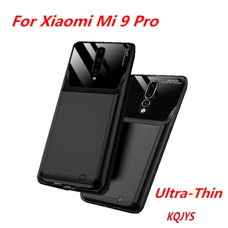 KQJYS 10000mAh Ultra Thin Mobile Power Bank For Xiaomi Mi 9 Pro Portable New Edge Packed Battery Charger Box For Xiaomi Mi 9 Pro|Battery Charger Cases| |  - title=