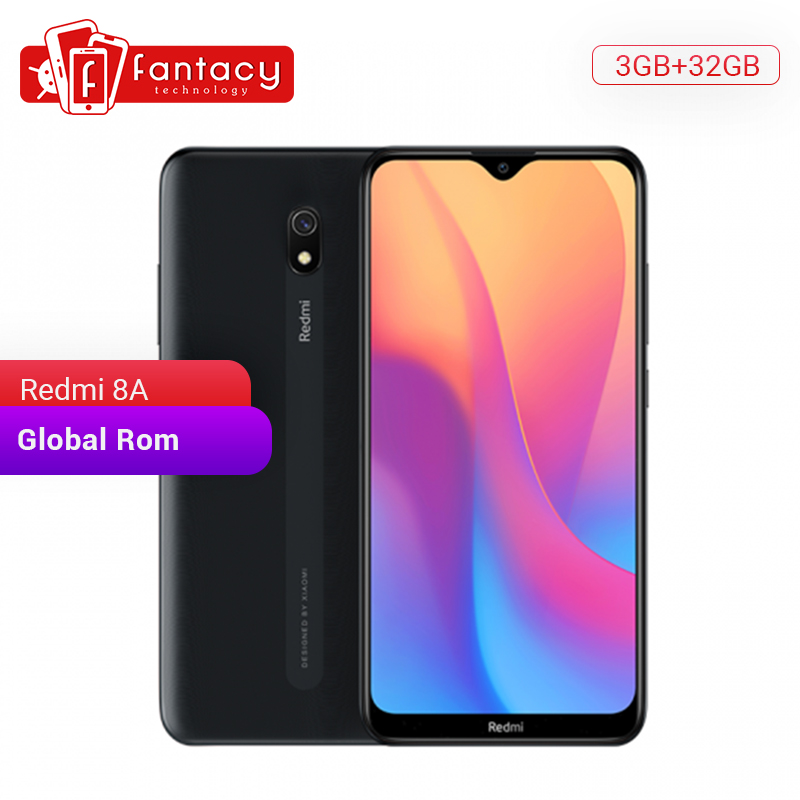 Global Rom Xiaomi Redmi 8A 8 A 3GB 32GB Snapdargon 439 Octa Core 6.22 Full Screen Mobile Phone 5000mAh 12MP AI Camera Smartphone