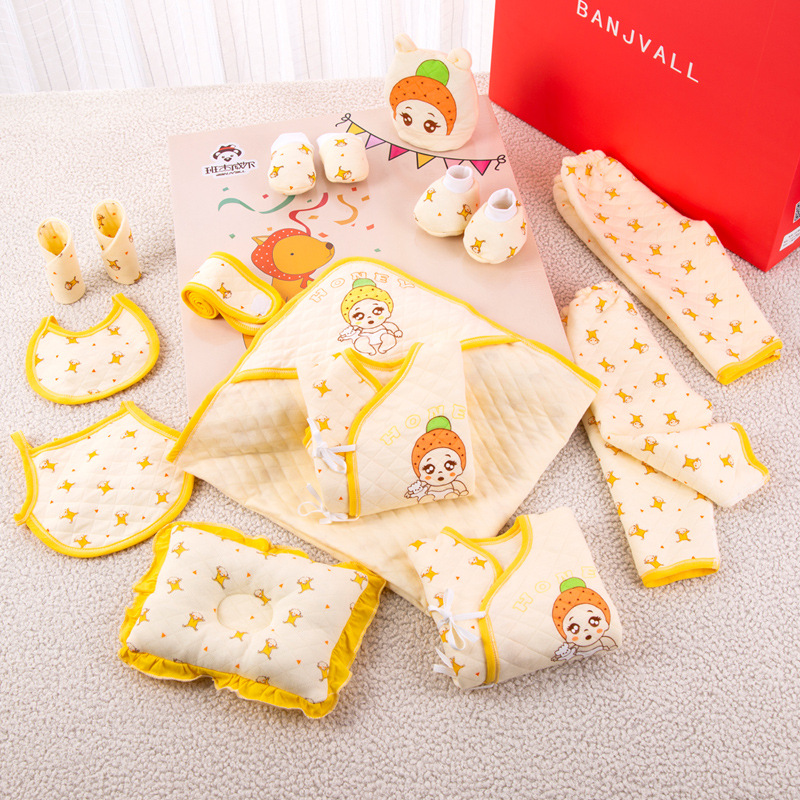 Clothes For Babies Pure Cotton Newborns Gift Set 0-3 Month 6 Autumn & Winter Newborn Baby Supplies