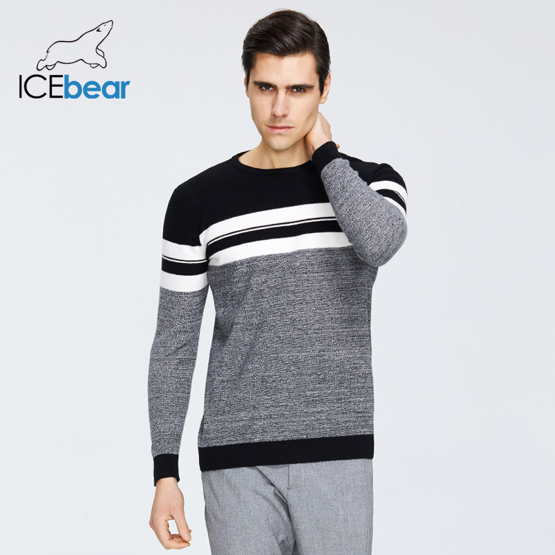 ICEbear 2020 Spring New Male Sweater Casual Men's Pullover Brand Men's Clothing  1723 1
