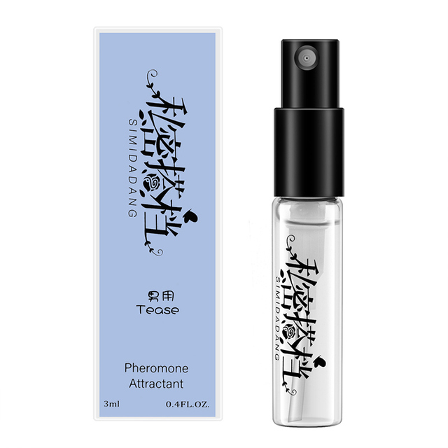 3ML Pheromone Perfume women men Aphrodisiac Sex Passion Orgasm Body Emotions Spray Flirt Perfume Attract men Water Lubricants