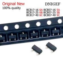 50PCS BC817-16 BC817-25 BC817-40 BC807-16 BC807-25 BC807-40 6A 6B 6C 5A 5B 5C SMD transistor