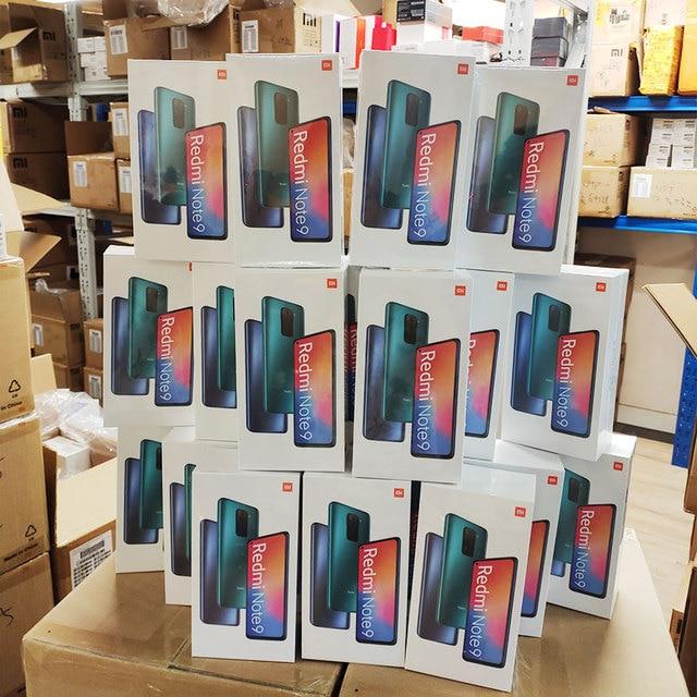 Global Version Xiaomi Redmi Note 9 3GB 64GB/4GB 128GB Smartphone MTK Helio G85 Octa Core 48MP Quad Rear Camera 6.53 6