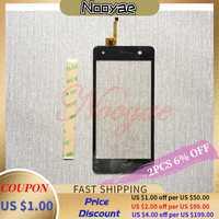 100% getestet Schwarz sensor Touchscreen Für BQ BQ-5009L Trend BQ5009L 5009L Touchscreen Digitizer Glas Panel + tracking