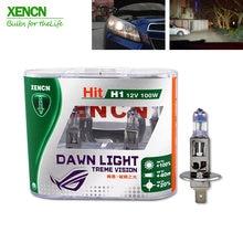 Xencn h1 12 v 100 w p14.5s 3800 k segunda geração dawn luz substituir atualizar faróis do carro super brilhante halogênio lâmpadas de automóvel 2 pcs