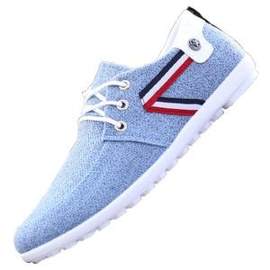 Image 5 - 2020 men Casual Shoes mens canvas shoes for men shoes men fashion Flats brand fashion Zapatos de hombre