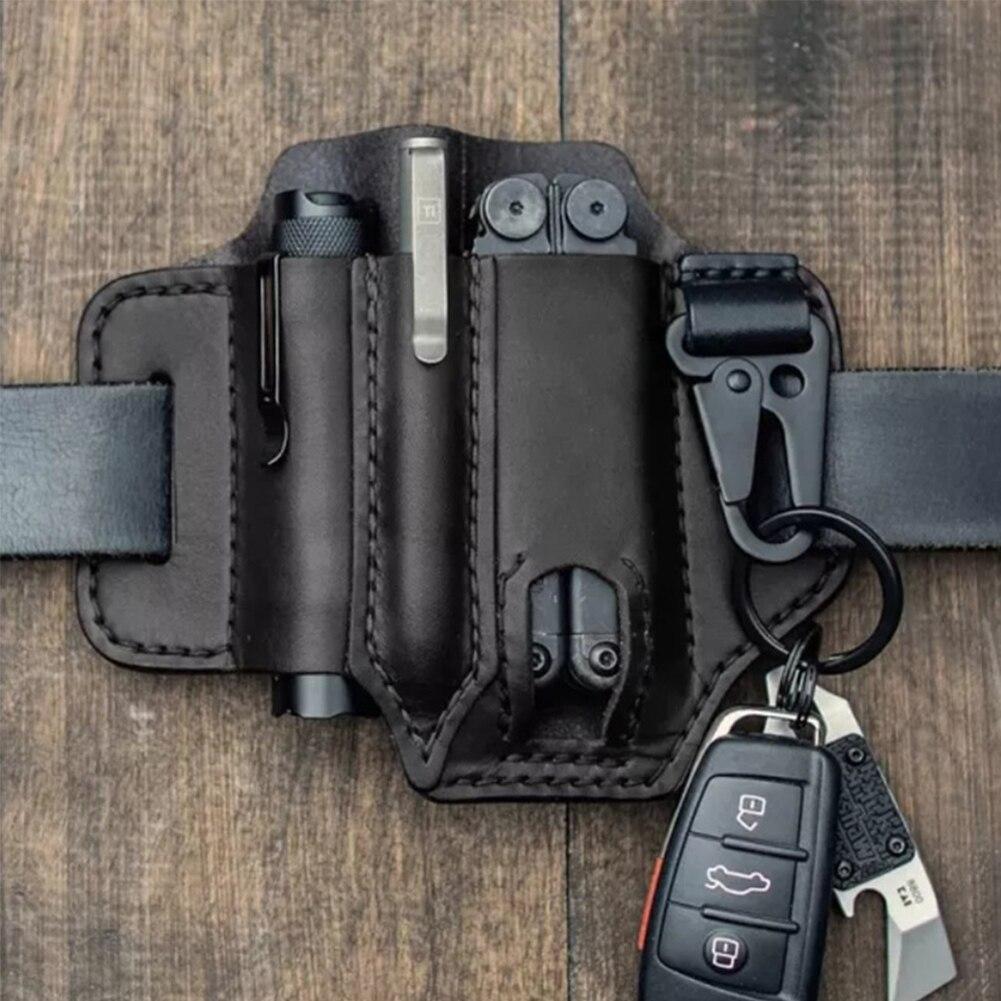 Мужчины мультитул ножны EDC карман органайзер с ключом держателем для ремня и фонарика ножны мультитула чехла для кемпинга