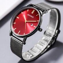 New Luxury Brand Men Watches Men's Sports Quartz Calendar Clock Man Stainless Steel Wristwatch Relogio Masculino zegarek damski