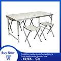 Tragbare Faltbare Camping Tisch set Outdoor Möbel Tische Aluminium Ultraleicht Angeln Camping Ausrüstung Picknick Folding Schreibtisch