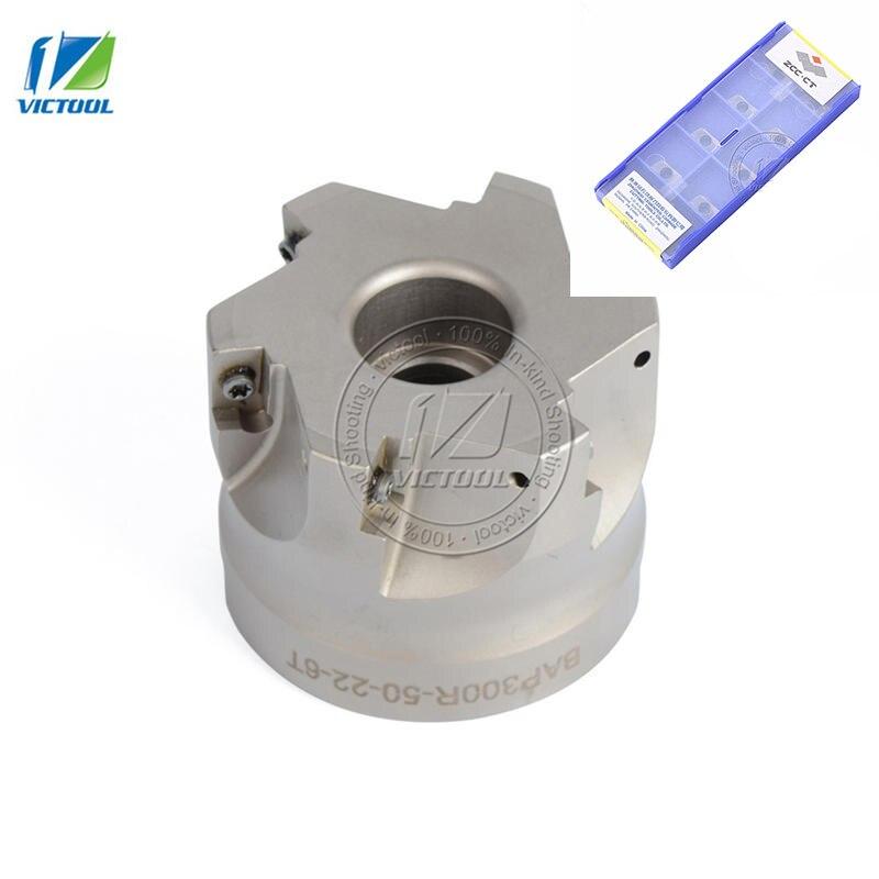 Cutter Head Face-Mill Carbide-Insert APMT1604 BAP400R Shoulder