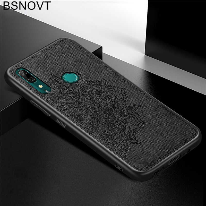 For Huawei P Smart Z Case Frame Cloth Fabric Patterned Cover For Huawei Y9 Prime 2019 Case For Huawei P Smart 2019 Case BSNOVT