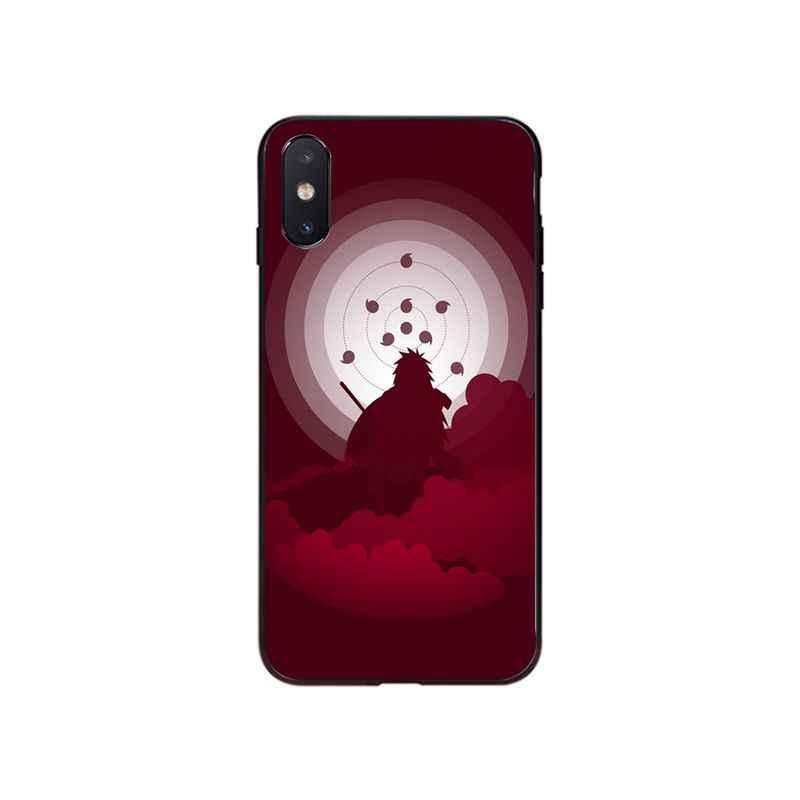 MaiyaCa アニメナルトロゴ電話アクセサリーケース iphone 11 プロ XS 最大 XS XR 8 7 6 プラス 5 5S 、 SE