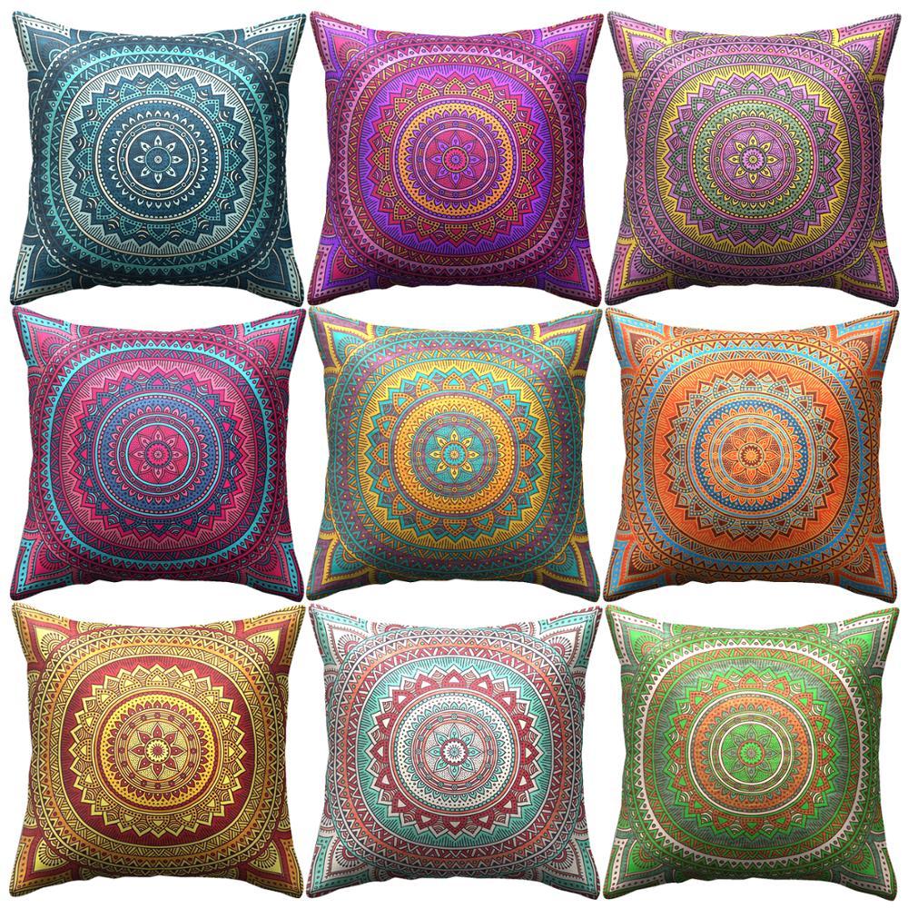 Cushion Cover Bohemian Throw Pillows
