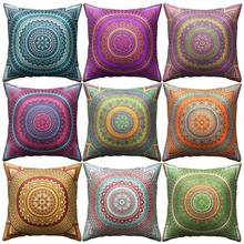 Mandala Cushion Cover Bohemian throw pillows  Geometric Pillow Case Polyester Home sofa pillow covers decorative