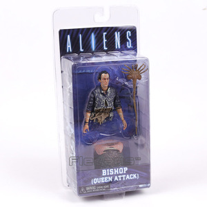 Image 1 - ALIENS NECA figura de acción de Hidden Queen Attack, modelo de juguete en PVC, colección de figuras de acción