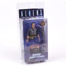 NECA ALIENS Bishop Queen Attack Action Figure Collection PVC Figurine Model Toy