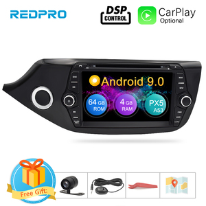 Android 9.0 Touch Screen Car Multimedia Player for Kia Ceed 2013 2014 2015 Audio Radio Stereo Video WiFI Bluetooth DVD GPS(China)