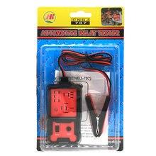 Verificador automotivo eletrônico da bateria do carro do verificador do relé do carro 12v universal