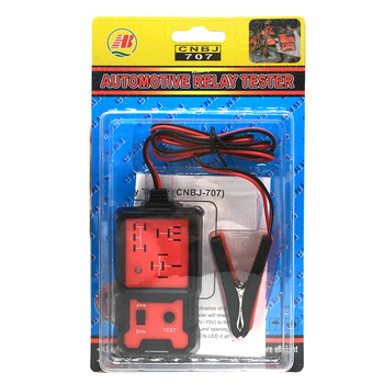 Car Relay Tester Universal 12V Electronic Automotive Relay Tester Car Battery Checker new automotive relay 12v 100a 5pin spdt car control device car relays automobile parts