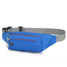 Fashion good quality outdoor sport fanny pack waist bag designer  fashion purses Barrel-shaped