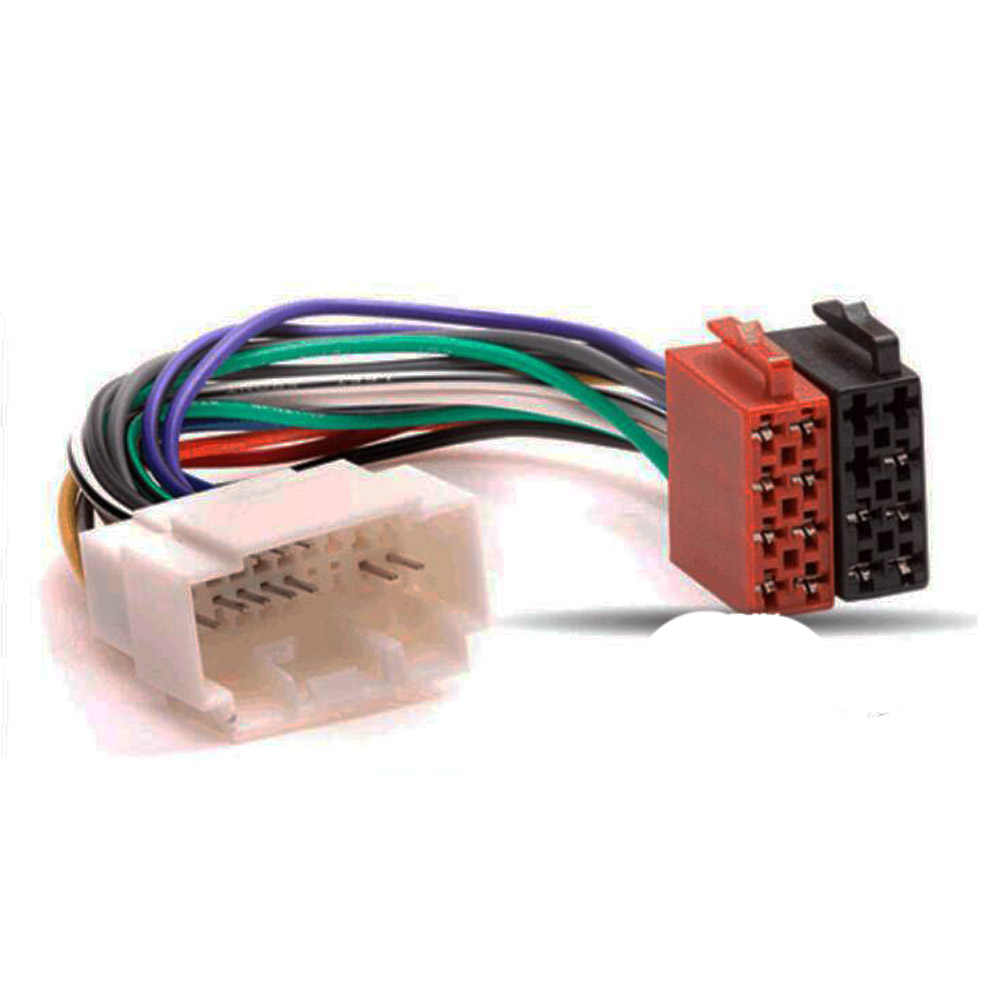 車ラジオ ISO アダプタスイッチケーブルホンダアコードシビック CRV インテグラインテグラジャズオデッセイ