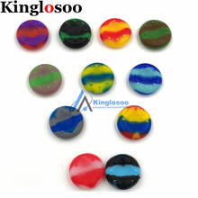 100pcs/lot Silicone Analog Gel Thumb Grips Cover for PS4 PS3 XBOX One 360 Controller Thumbstick Rubber Case