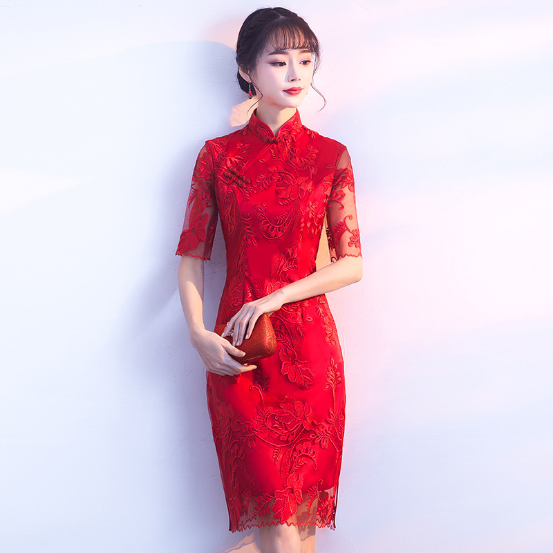 Chinese-Traditional-Red-Lady-Cheongsam-Elegant-Woman-Slim-Long-Qipao-Large-Size-3XL-Vintage-Embroidery-Floral (1)