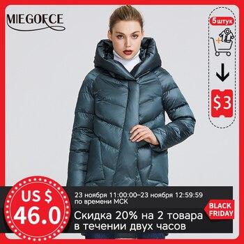 MIEGOFCE – Manteau d'hiver chaud pour femme, vêtements chauds, charme et élégance, différentes couleurs, saison hiver 2020 1