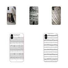 Old Music Score Opern Luxury For Apple iPhone 4 4S 5 5C 5S SE 6 6S 7 8 Plus X XS Max XR(China)