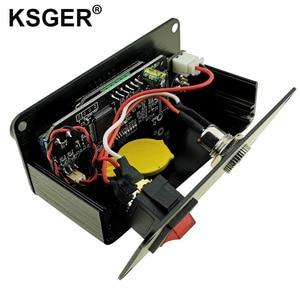 Image 5 - Ksger ミニ T12 はんだステーション diy STM32 V2.0 oled T12 のヒント溶接キット abs プラスチックハンドル亜鉛スタンドクイック加熱