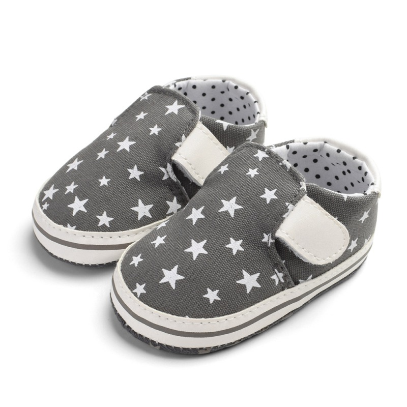 Canvas Classic Sports Sneakers Newborn Baby Boys Girls First Walkers Infant Toddler Soft Sole Anti-slip Baby Shoes