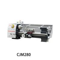 CJM280 Bench Lathe Industrial Machine Tool Small Bench Lathe Household Metal Machine Tool Machining Center High precision Lathe