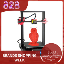 3D Printer CREALITY CR 10S Pro Upgraded Auto Leveling DIY Self assembly Kit 300*300*400mm Large Print Size LCD Touchscreen