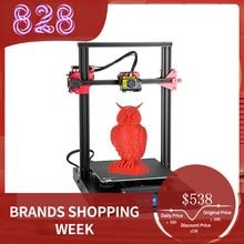 3Dプリンタcreality CR 10Sプロアップグレード自動レベリングdiy自己組立キット 300*300*400 ミリメートル大印刷サイズの液晶タッチスクリーン