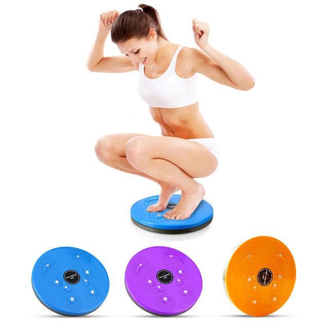 Practical Twist Waist Torsion Disc Board Magnet Aerobic Foot Exercise Yoga Training Health Twist Waist Board Well Sell 1