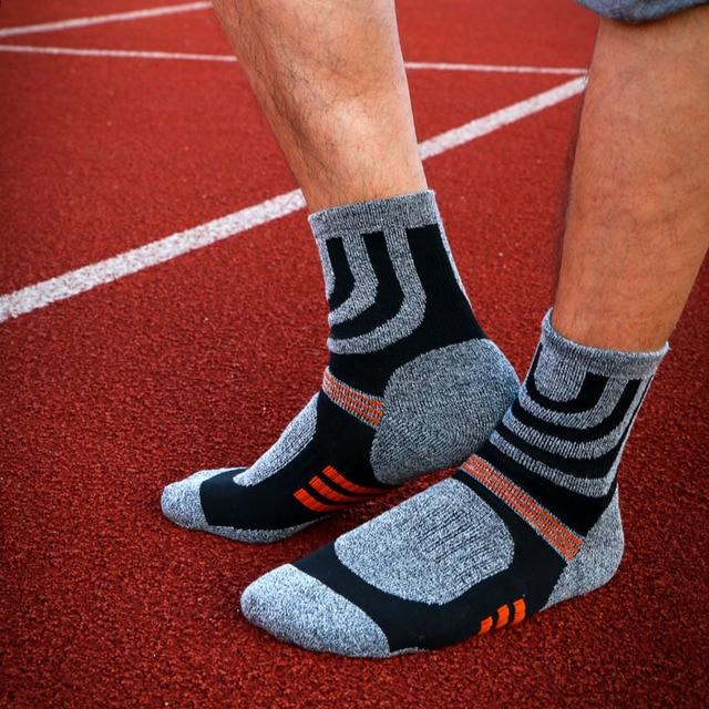 Тёплые зимние мужские носки с начёсом 2