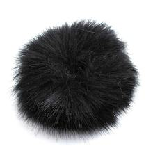 3 Colors Fur Windscreedn Wind Shield Wind Muff For Lapel Lavalier Microphone Mic Microphone Accessories(China)