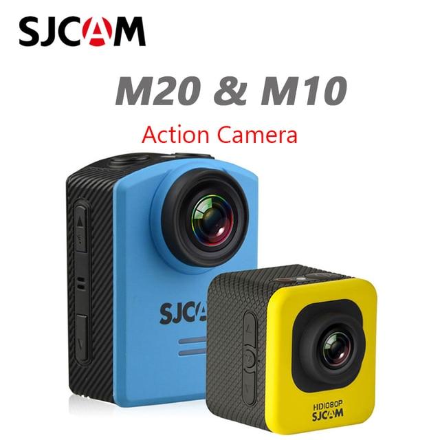 Cámara de acción Original SJCAM M10 / M20 HD 1080P Sports DV 1,5 LCD 12MP videocámara buceo impermeable Cámara DVR deportes DV