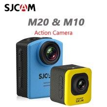 Original sjcam m10/m20 câmera de ação hd 1080p esportes dv 1.5 lcd 12mp filmadora mergulho à prova ddv água câmera dvr esportes dv