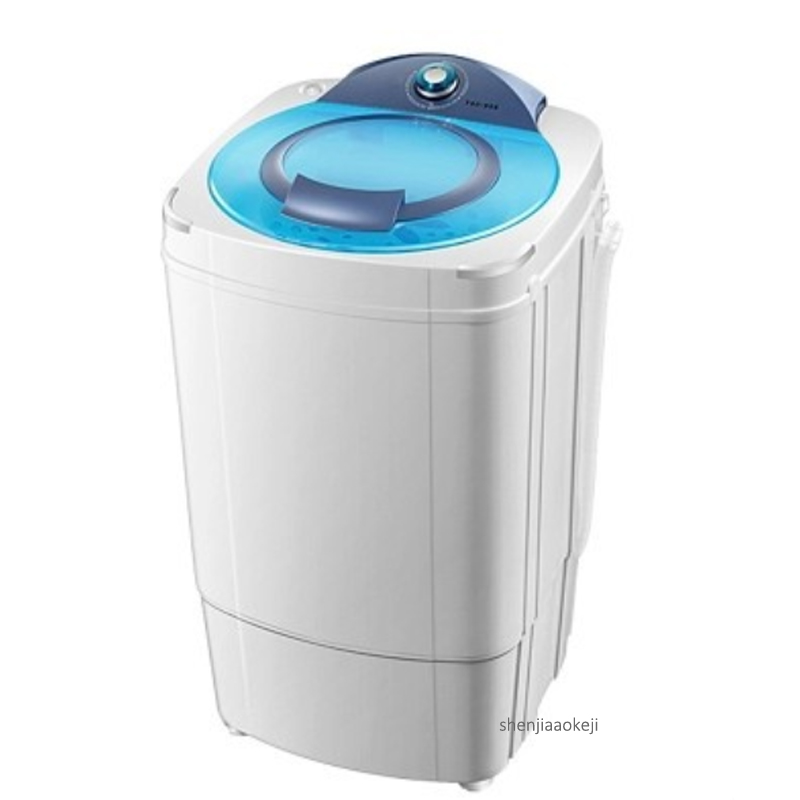 Mini electric dewatering machine Home/dormitory 9kg capacity clothes dehydrator T90-988 semi-automatic clothing dryer 220v 160w