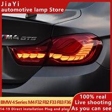 F82 luz da cauda bmw série 4 2014-2019 m4 luz da cauda gts design led luz da cauda f32 f33 f83 f36 luz de sinal drl carro peças sha