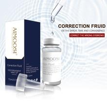 2pcs Aimoosi Correction Fluid Remove eyebrow Tattoo Permanent makeup eyebrow microblading tattoo Lighten color