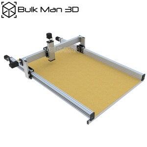 Image 2 - 4 עופרת ציר CNC נתב מכונת ערכת + Mach3 GRBL USB בקר צרור + שרשרת צרור + 4pcs Nema23 מנועים צעד