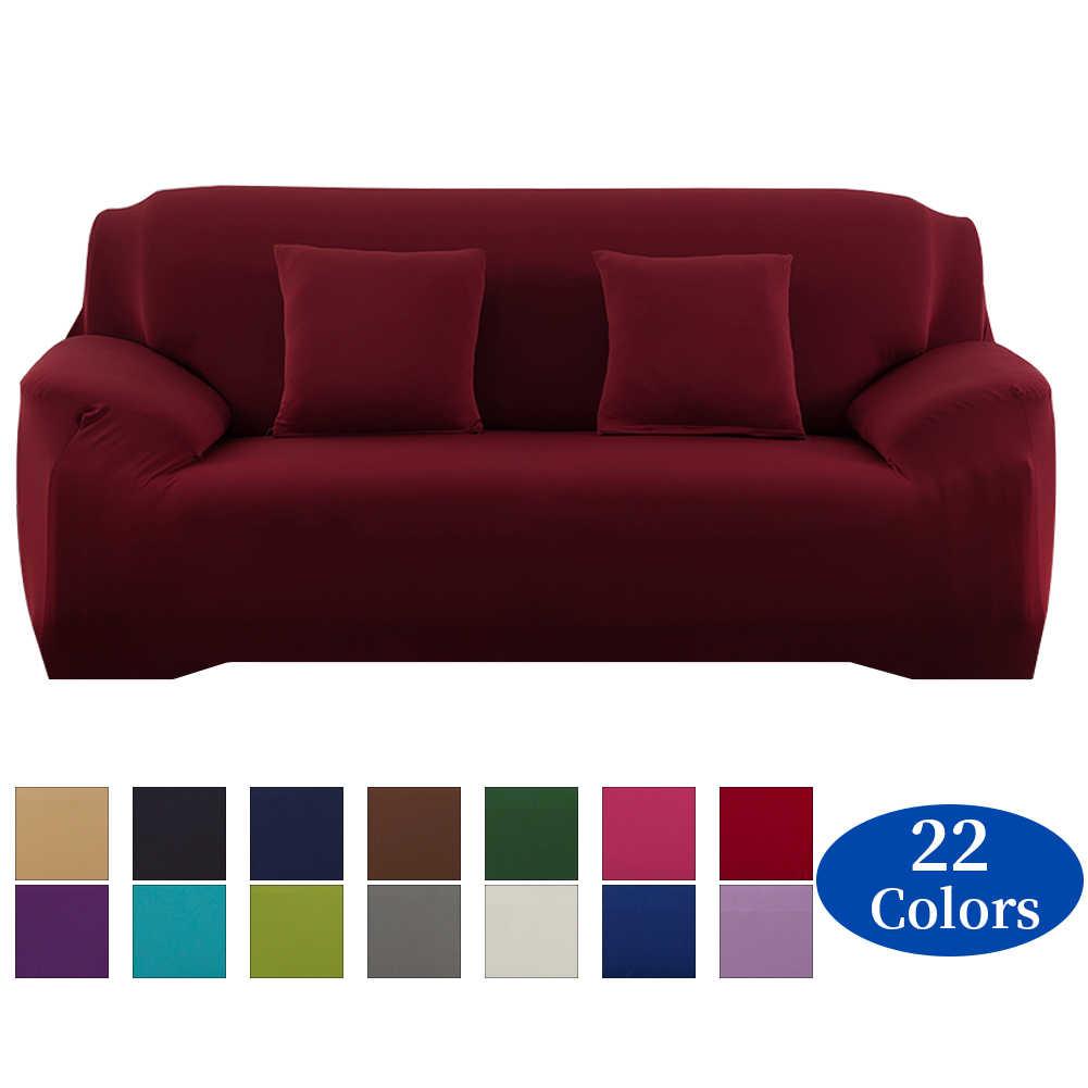 Meijuner Sofa Cover Effen Kleur Elastische Universele Hoes All-Inclusive Anti-Slip Sofa Covers Handdoek Voor Eetkamer y402